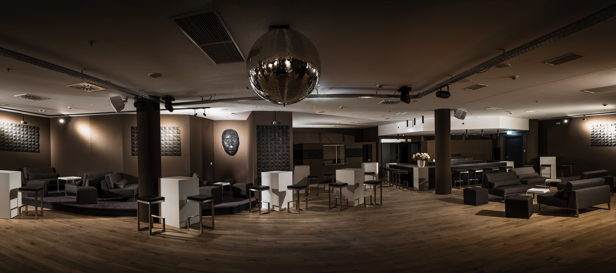 copper room event location pop up restaurant frankfurt