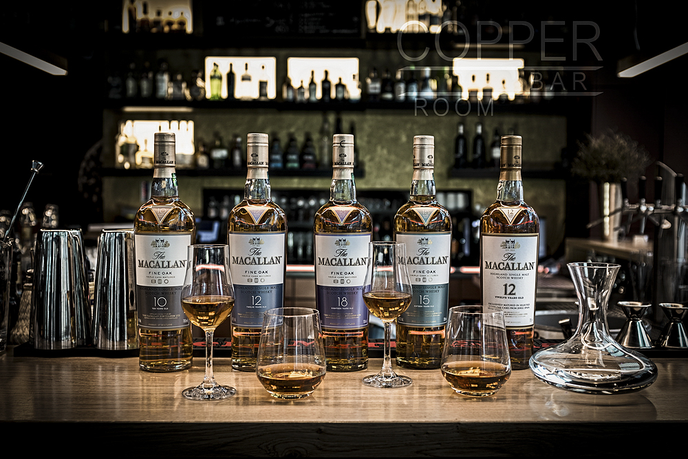 macallan vintage collection copper bar restaurant frankfurt - © coppergoup gmbh