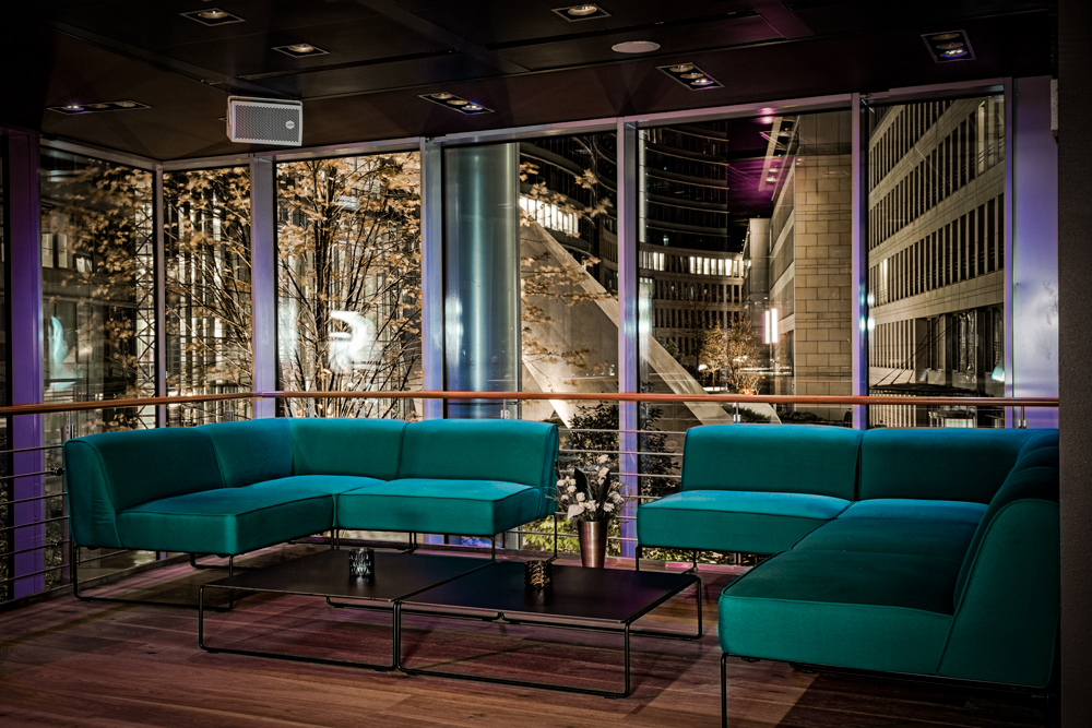copper bar restaurant room event frankfurt - © copper group gmbh