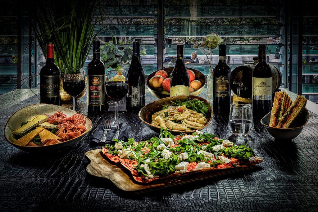 copper bar restaurant room frankfurt alte oper events food drink